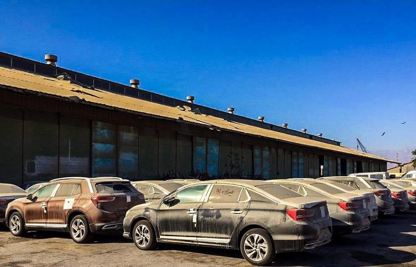 هنوز نزدیک به ۲۰۰۰ خودروی دپو شده در گمرک هرمزگان وجود دارد
