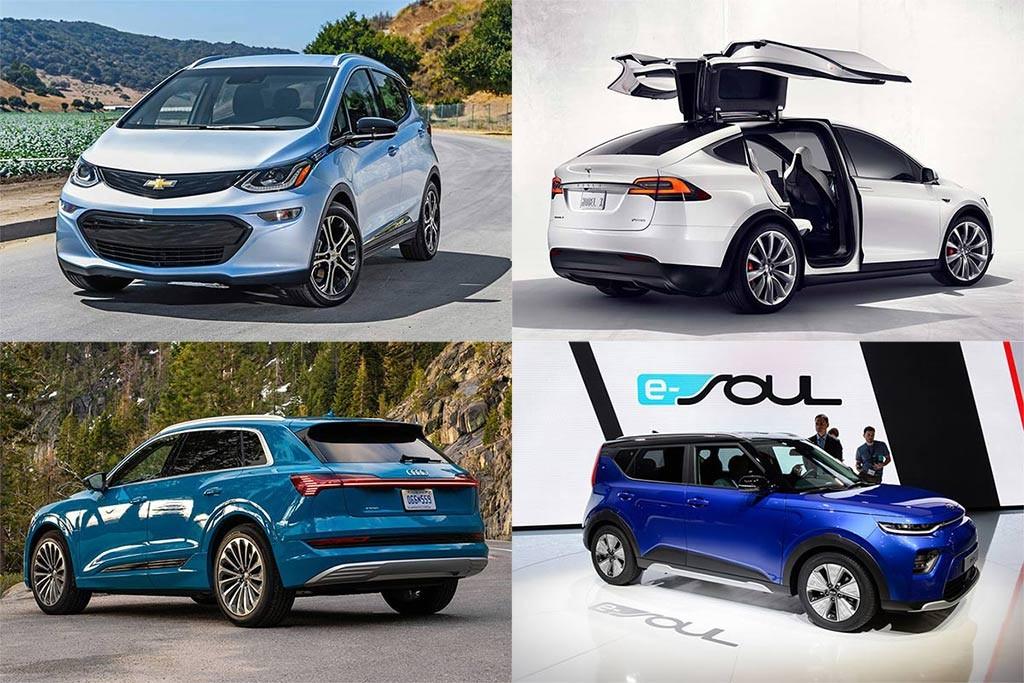 معرفی پرفروشترین خودروهای برقی آمریکا در سال ۲۰۱۹ + عکس
