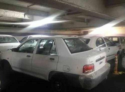 دپوی 90 درصد خودروهایی که خریداری می شود در پارکینگ منازل