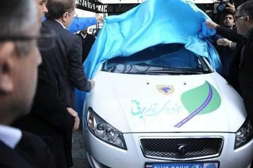 رانای برقی ایران خودرو رونمایی شد