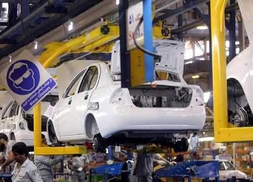 تولید بیش از 384 هزار دستگاه خودرو در سایپا