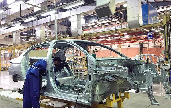 حرکت خودروسازان شهرستانی در جاده افت تولید