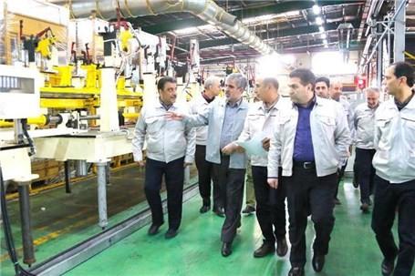 خط تولید بدنه محصولات X۲۰۰ در پارس خودرو راه اندازی شد