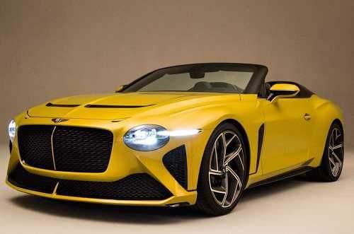 رونمایی خودرو 2 میلیون دلاری بنتلی