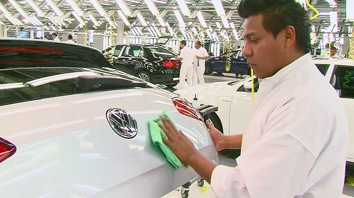 تعطیل شدن کارخانه فولکس واگن در مکزیک