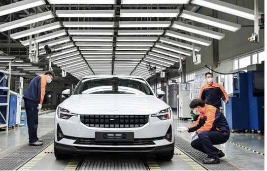 آغاز تولید پولستار 2 در چین با مدل 2020 + عکس