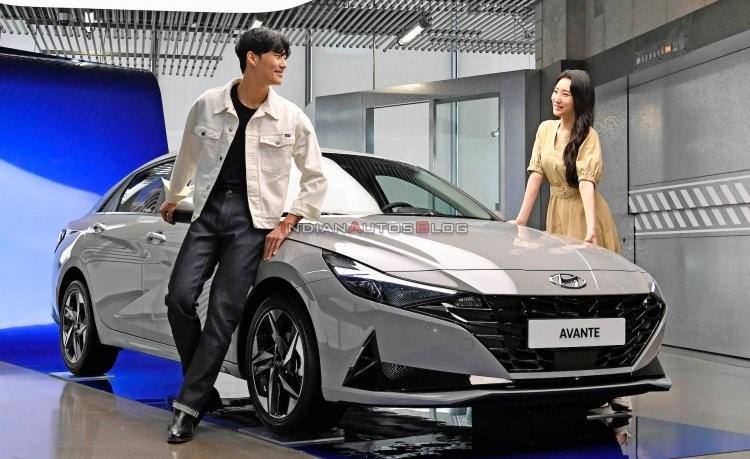 عرضه هیوندای الانترا مدل 2021 در کره جنوبی + قیمت