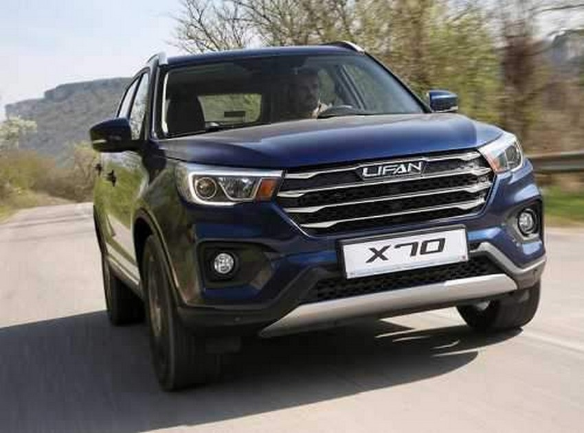 معرفی مشخصات خودرو لیفان X70 که به زودی وارد بازار ایران میشود + جدول