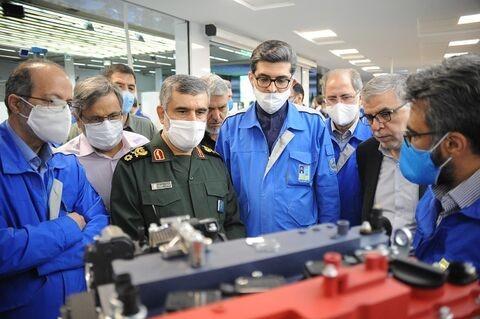 فرمانده هوا فضای سپاه: آماده انتقال فناوری به صنعتخودرو هستیم