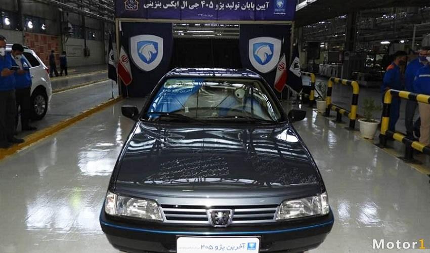 مشخص شدن خودرو جدید جایگزین 405 جی ال ایکس