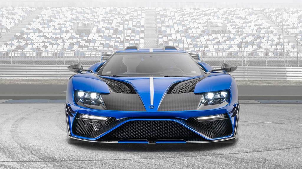 محصول جدید منصوری معرفی شد؛ فورد GT غرق در فیبر کربن + تصاویر
