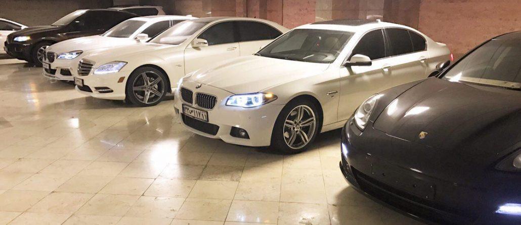 نگاهی به قیمت اجاره برخی از خودروهای لوکس در تهران