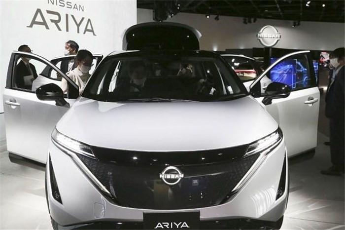 رونمایی از خودروی کراس اوور الکتریکی نیسان با نام «آریا»  + عکس