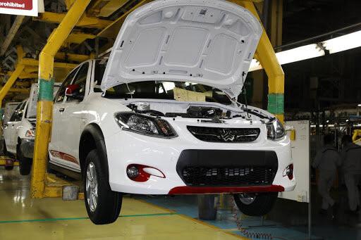 تولید بیش از ۱۱۷ هزار دستگاه خودرو در سایپا در چهارماه امسال
