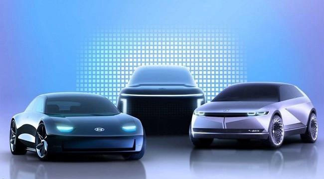 آیونیک برند جدید هیوندای ویژه خودروهای الکتریکی با 3 محصول جدید معرفی شد + تصاویر
