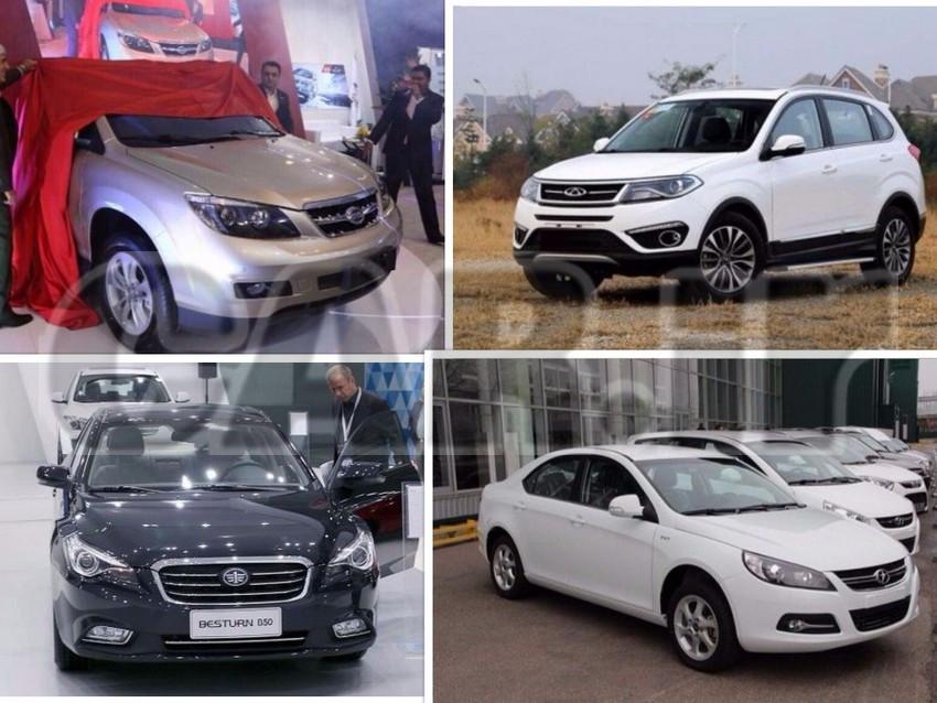 معرفی پنج خودرو چینی کم استهلاک در بازار ایران + عکس