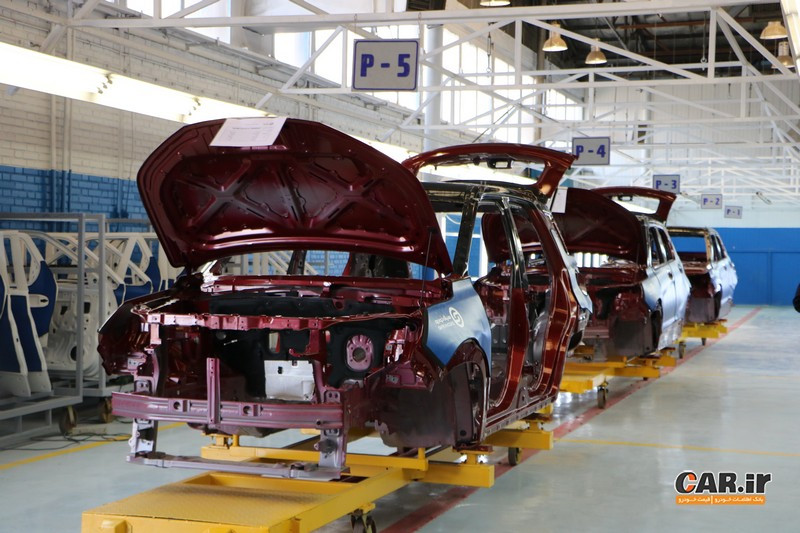 رشد تولید خودروسازان خصوصی