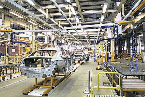 دلیل تولید خودروها با کسری قطعه
