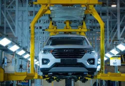 تولید خودرو جدید لیفان X70 در ایران آغاز شد + تصاویر