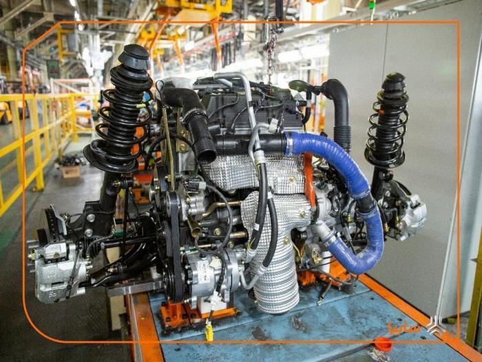 سایپا: موفقیت موتور خودروی شاهين در آزمونهای عملکردی