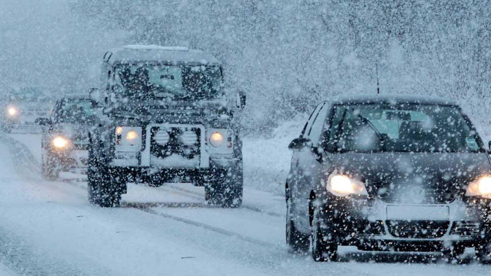 16  توصیه مهم برای رانندگی در برف