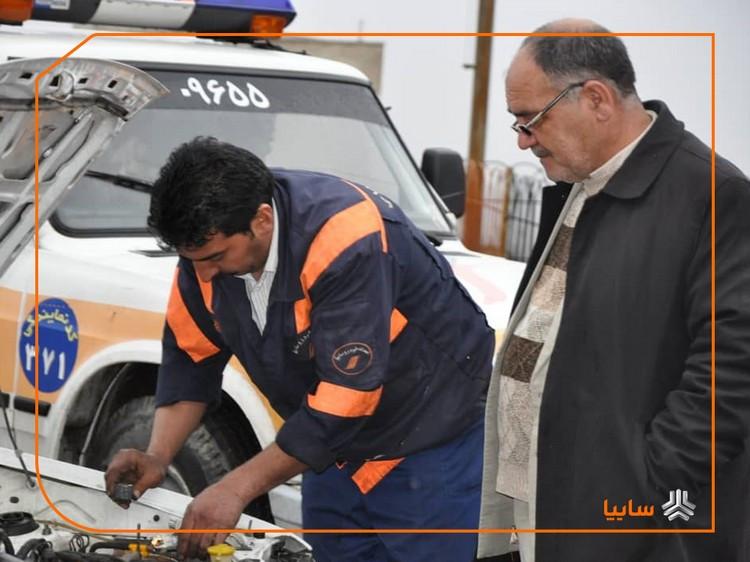 هشدار: امدادخودروهای متفرقه تهدیدی برای هموطنان