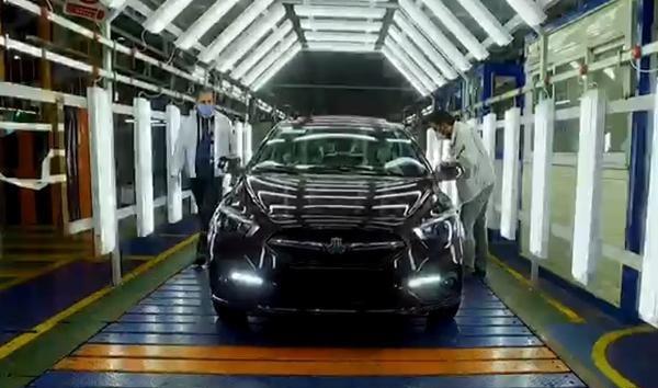 تولید خودرو شاهین با جدیدترین ورقها و آلیاژهای داخلی