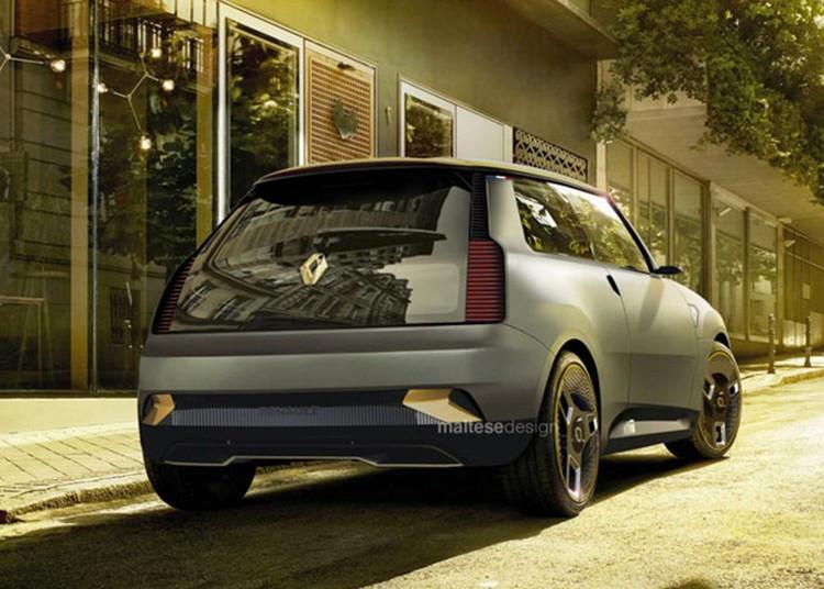 برگشت دوباره خودرو رنو 5 با ظاهری کاملا متفاوت + عکس