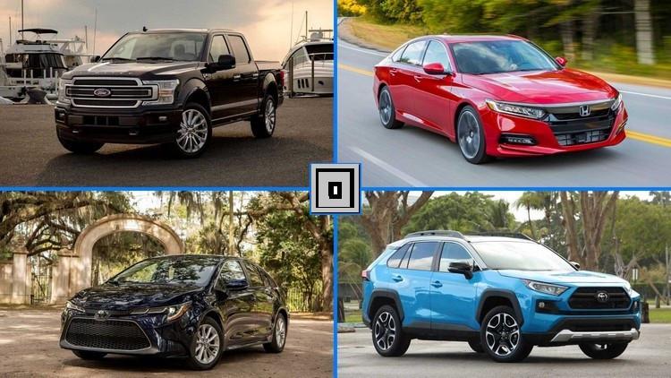 پیکاپ ها صدرنشین جدول پرفروش ترین خودروهای سال آمریکا + اسامی