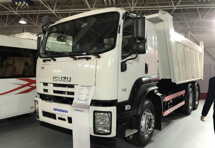 اعلام قیمت جدید کامیونهای ایسوزو 6 و 8 تن ویژه بهمن ماه 99 + جدول