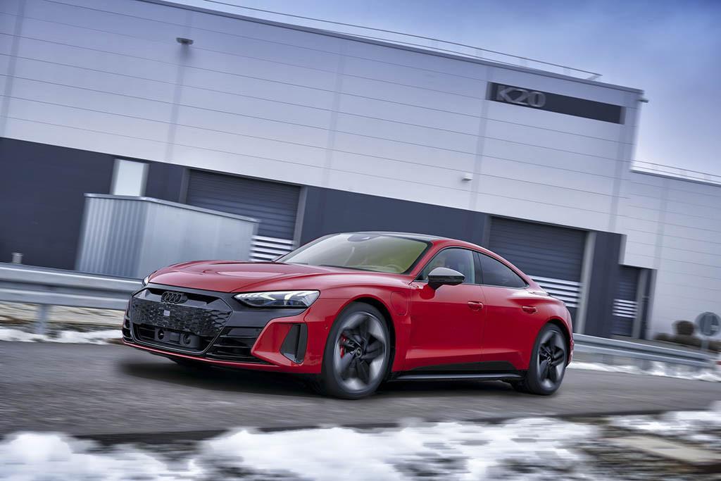 آئودی E-Tron GT و RS E-Tron GT جدیدرسما معرفی شد + عکس
