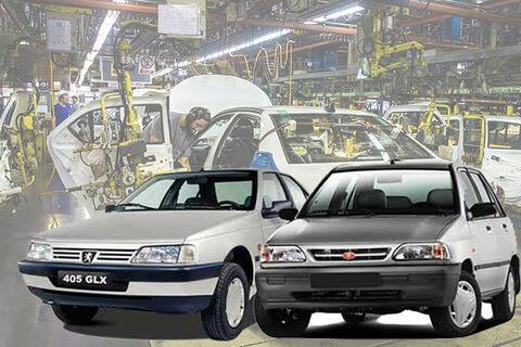 بررسی میزان درآمد خودروسازان از فروش پژو و پراید