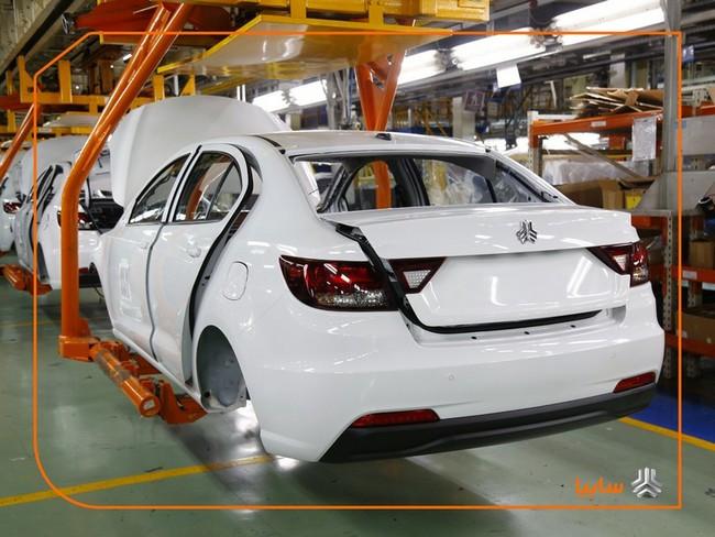 تولید بیش از ۴۲۰ هزار دستگاه خودرو در سال ۹۹ در سایپا با وجود کرونا و تحریم