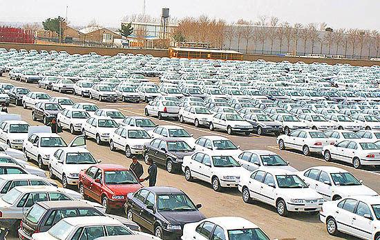 شلوغتر شدن انبار خودروسازان همراه با رشد تیراژ محصولات ناقص
