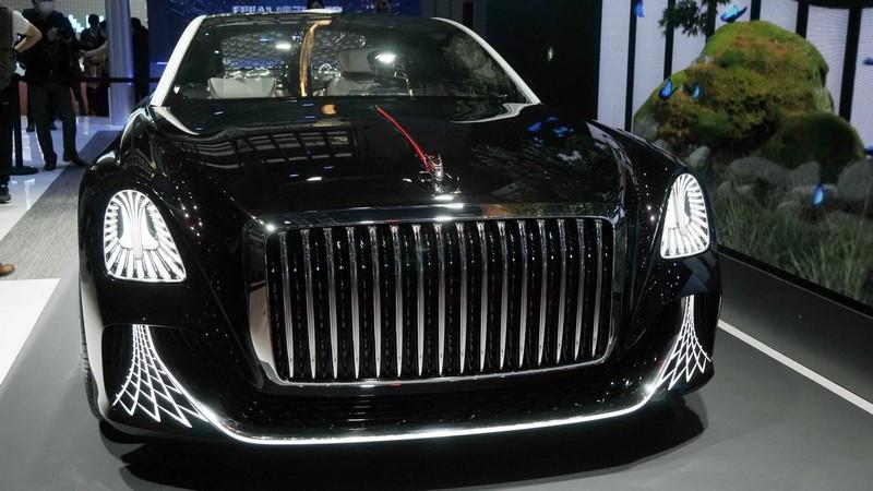 معرفی خودروی چینی که فرمان ندارد؛ هونگ چی کانسپت L و ادعای رقابت با لوکس ترین های دنیا + عکس