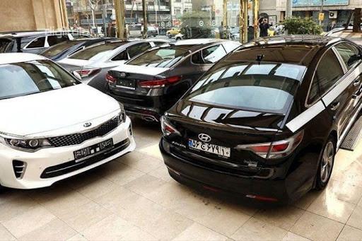 افت بهای خودروهای وارداتی تا 50 میلیون تومان در بازار