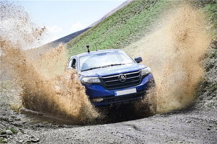 عرضه یک پیکاپ جدید به بازار خودرو کشور توسط ماموت خودرو