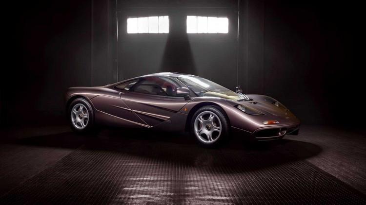 مک لارن F1 با قیمت 15 میلیون دلار در حراجی به مزایده گذاشته می شود + عکس