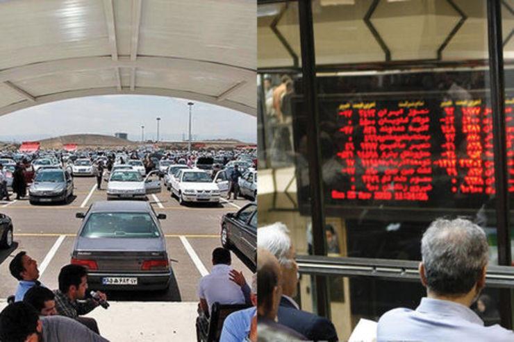 بررسی سود و زیان خودروسازان با عرضه خودرو در بورس
