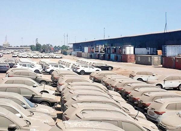 در گمرکات کشور چه خودروهایی در حال خاک خوردن هستند؟ + جدول