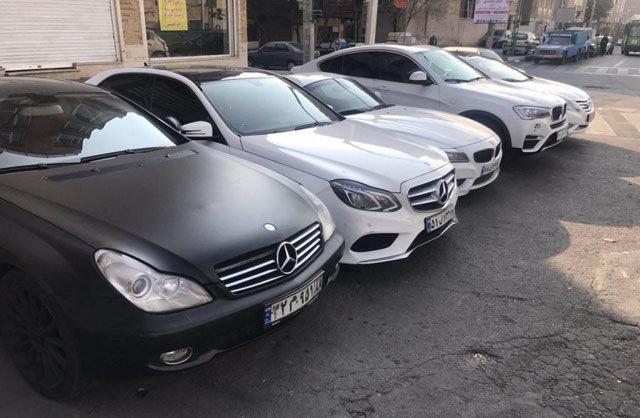 ارسال اطلاعات کامل خودروهای لوکس به سازمان مالیاتی برای اخذ مالیات