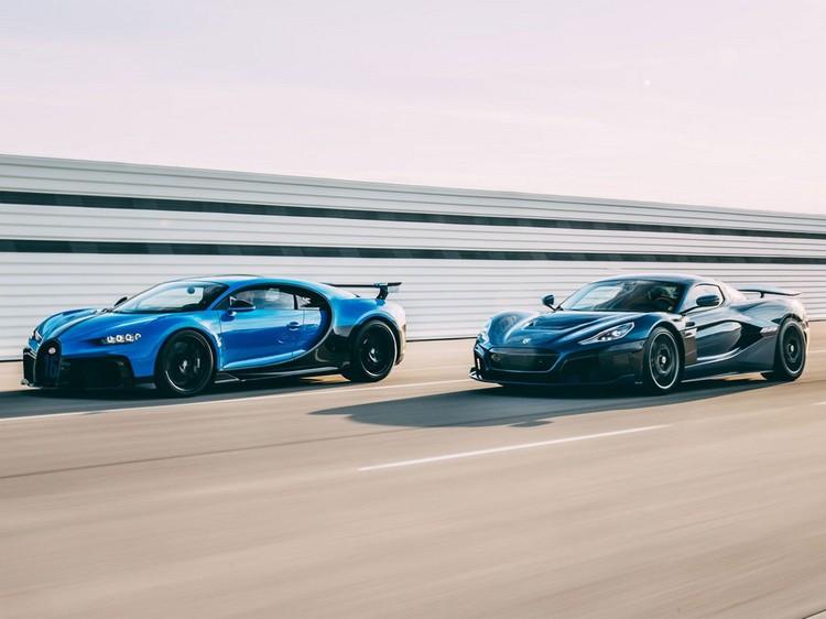 کمپانی های خودروساز ریماک و بوگاتی رسماً به هم پیوستند + عکس