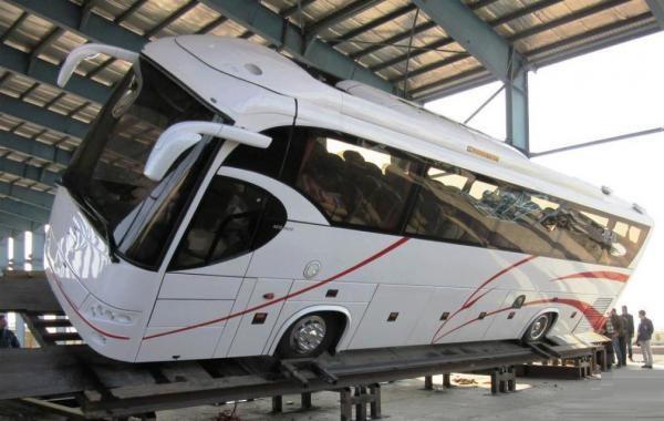 تداوم تولید اتوبوس های بی کیفیت اسکانیا در ایران!