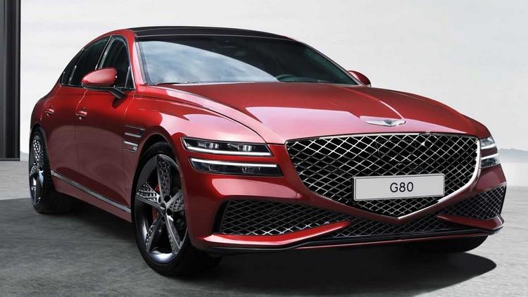 هیوندای از جنسیس G80 مدل 2022 اسپرت رونمایی کرد + عکس