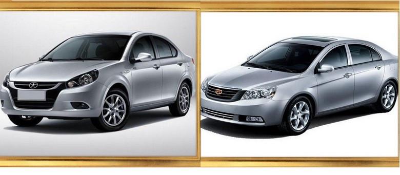 مقایسه دو سدان چینی جیلی EC7 با جک J۳ در بازار ایران + مشخصات فنی