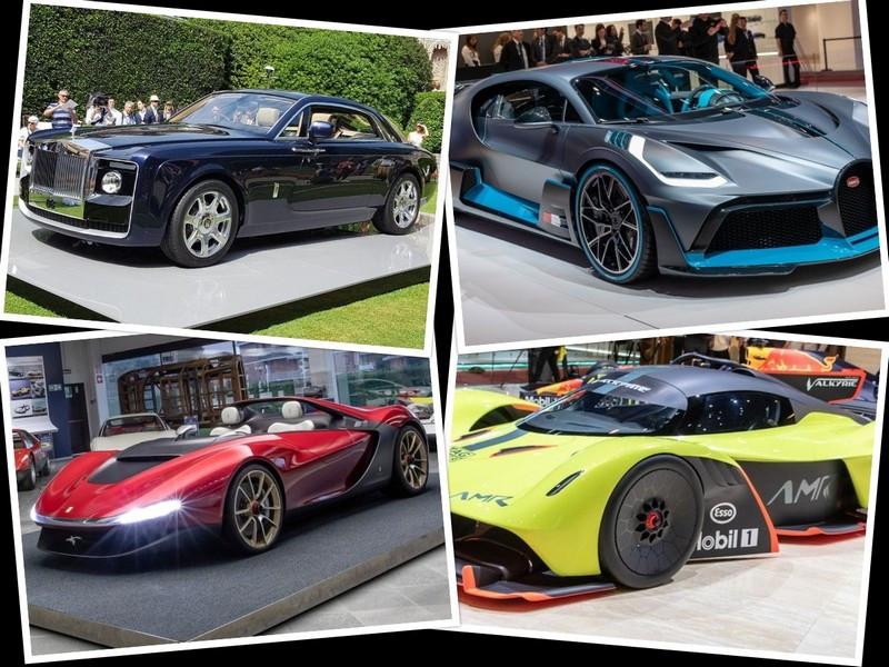 معرفی گرانترین خودروهای دنیا در سال 2021 + عکس