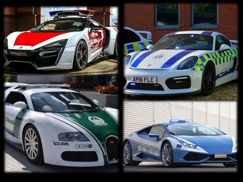 معرفی سریع ترین خودروهای پلیس در جهان + عکس
