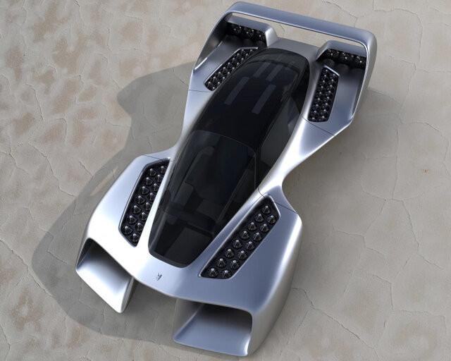 خودروی پرنده سوپر اسپرت با سرعت ۴۰۰ کیلومتر بر ساعت طراحی شد + عکس