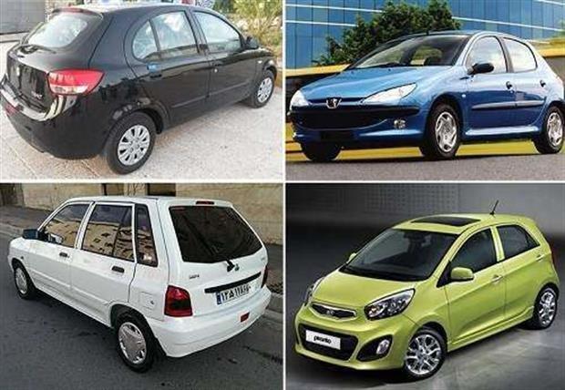 خودروهایی که پول نقد در بازار ایران به حساب میآیند