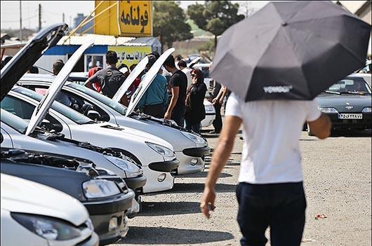 سرانجام قیمت خودرو در بازار نزولی شد